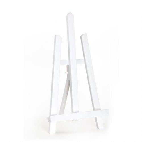 "White Colour Easel Essex 16"" - Beech Wood"